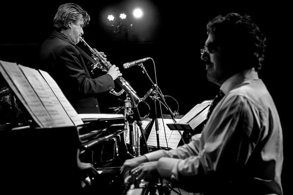 Håkan Broström, sopraanosaksofoni ja Joey Calderazzo, piano Haaparannalla 13.12.2012