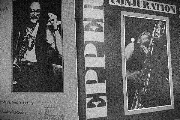 Pepper Adams: Conjuration. Fat Tuesday´s Session (Reservoir Music, 1990)