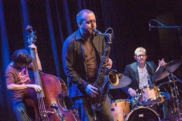 Jonas Kullhammar Quartet esiintyi Torniossa Lappian Musiikkitalolla 11.2.2008.
