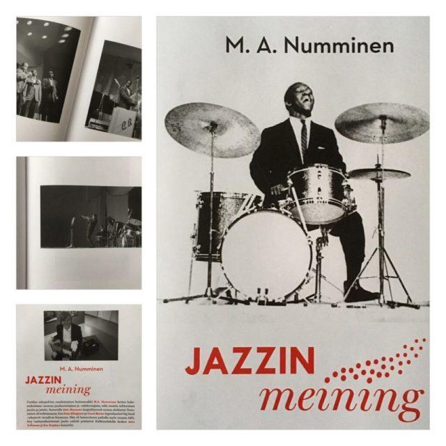M.A. Numminen: Jazzin meining (Aviador Kustannus, 2016)