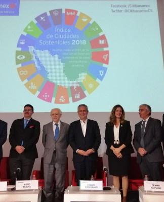 Presentación del Índice de Ciudades Sustentables, Citibanamex
