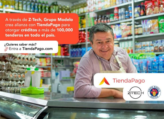 Z-Tech y Grupo Modelo se unen a Tienda Paga