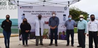 BerryMex dona dos ventiladores mecánicos en San Quintín, Baja California