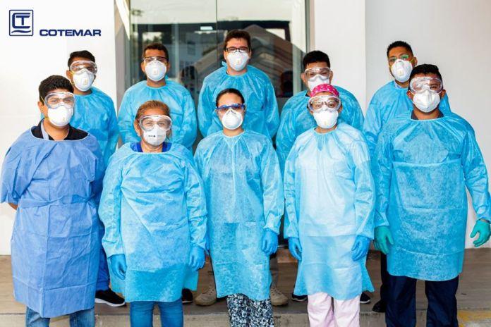 Grupo Cotemar dona 2 mil oxímetros de pulso a la Secretaría de Salud de la CDMX