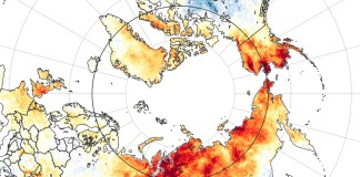 El ártico, en llamas por efecto del cambio climático