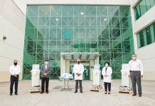 Ternium dona respiradores a IMSS de Monterrey