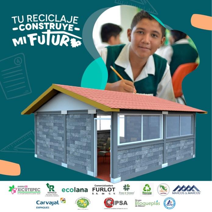 1ra Aula Sustentable en México con envases reciclados de Tetra Pak