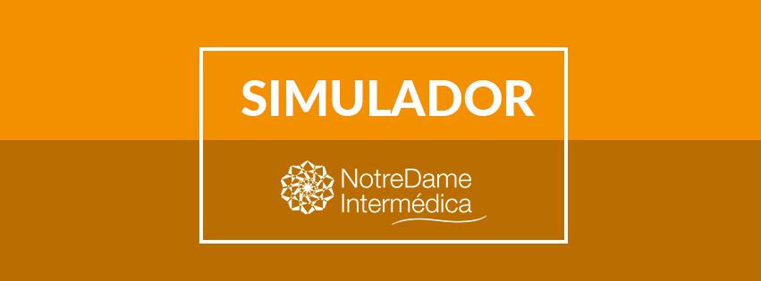 Simulador NotreDame Saúde