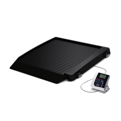 350-10-7 Single-Ramp Wheelchair Platform Scale