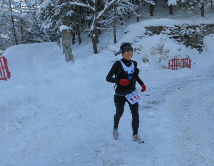 Alma Rrika Valetudo Skyrunning Rosa al trail blanc di Cesana 2015 (1)