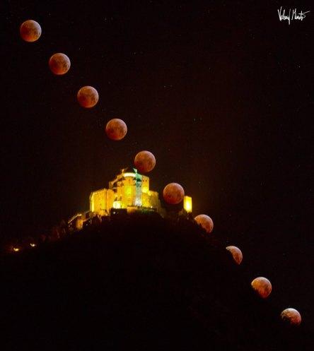 sacra san michele eclissi gennaio 2019