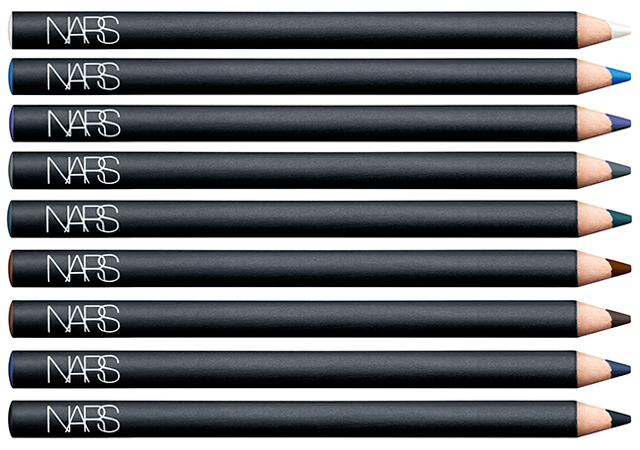 Velvet Eyeliner (from top to bottom): Las Pozas, Curacao, Blue Lotus, London, Kaliste, Mambo, Last Frontier, Darklight, and Black Moon, $24 each
