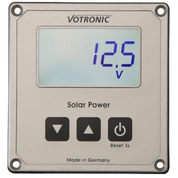 Näyttöpaneeli Votronic MPP lataussäätimiin