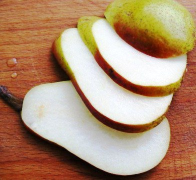 Cut pears - benefits