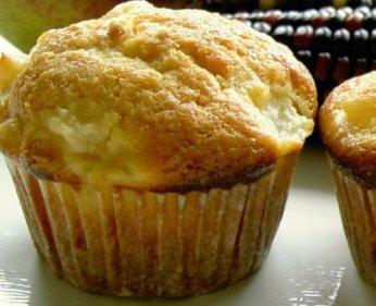 Ginger pear muffins recipe