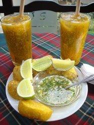 colombian lulada - lulo drink