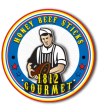 1812 gourmet honey beef sticks