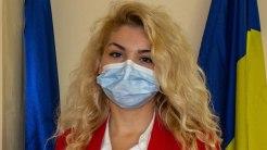 Monica Drăgușin, consilier local din partea PNL. FOTO Paul Alexe