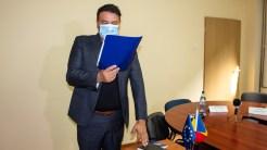 Florin Mitroi a depus jurământul de învestire în funcția de primar al comunei Valu lui Traian. FOTO Paul Alexe