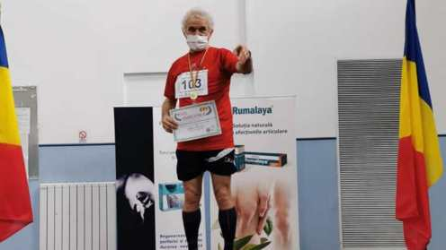 Petru-Andrei Condurache, campion național la proba de 800 de metri. FOTO Facebook Camelia Condurache
