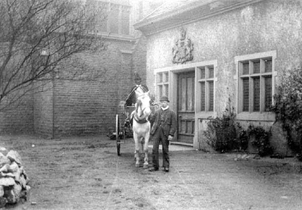 Sir Ralph De Assheton, The Black Knight's Horse