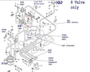 Diagrama de mangueras de agua susuky sidewik 16 Full