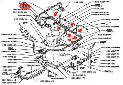 Carburador Toyota starlet 98 sincronico