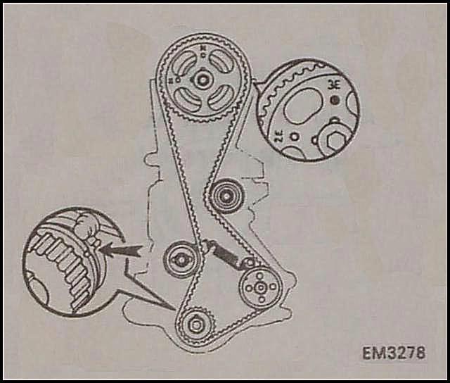 Como Montar El Tiempo De La Faja D Toyota 5e Modelo 96