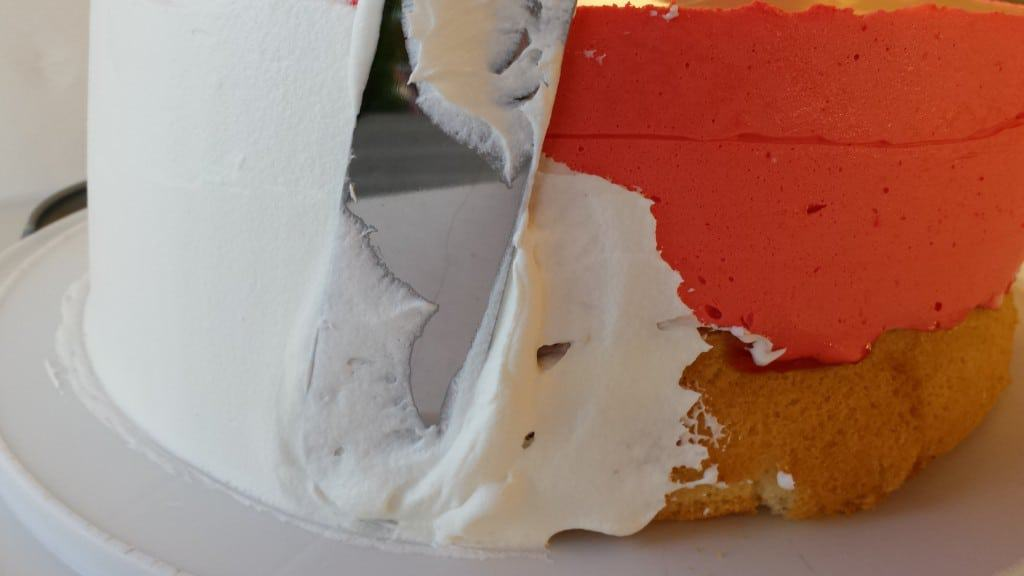 "Cake ""Cherry Lake"" - Торт ""Вишнёвое Озеро"""