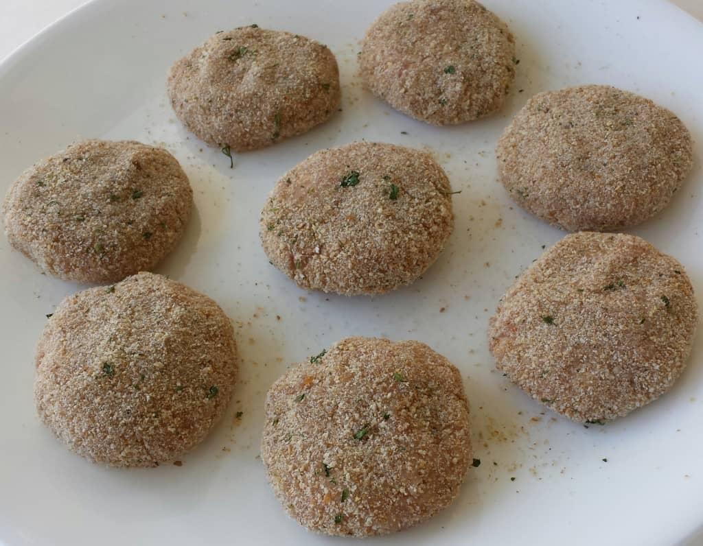 Turkey and Pork Meat Patties (Kotlety) - Котлеты2