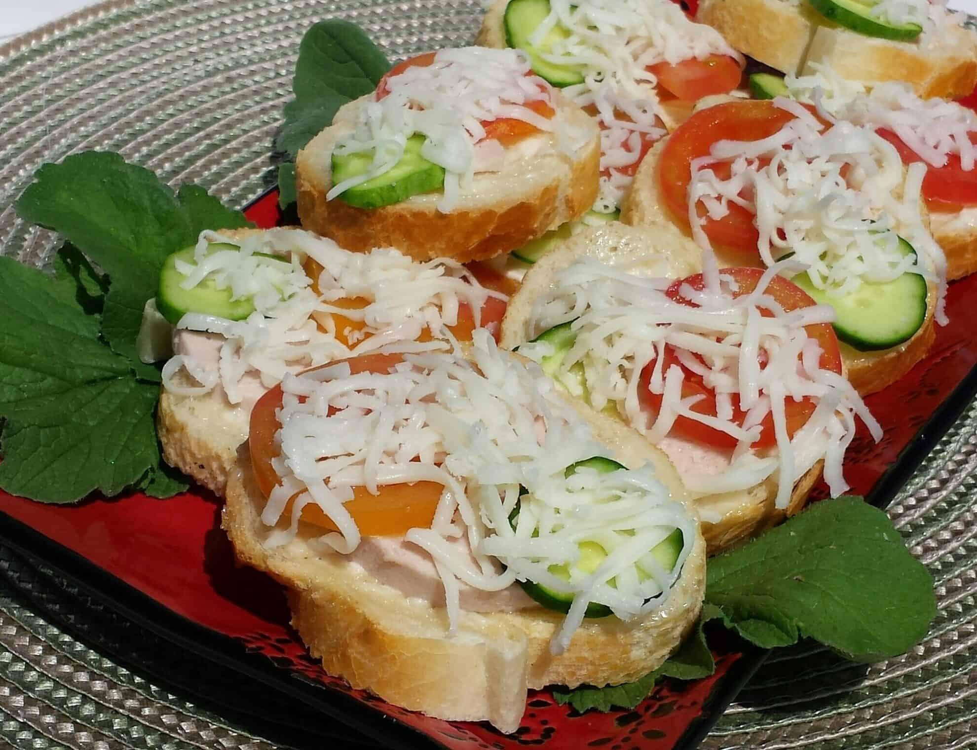 Easy Mini Sandwiches - Бутерброды