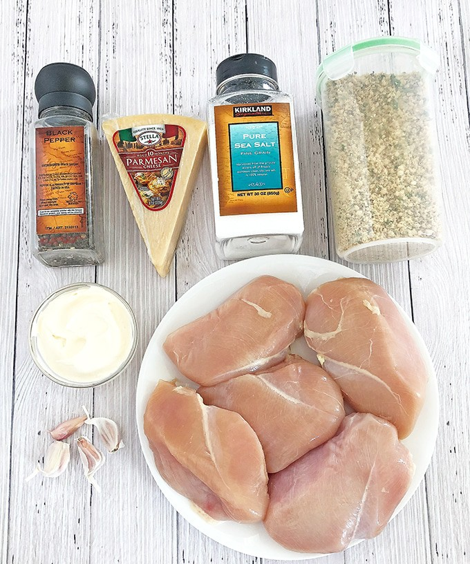 This tasty make-ahead meal is so easy to prepare, it will come to your rescue in the busiest of days. Not only this Crusted Parmesan Chicken Breasts recipe truly makes dinner time easy but must also be delicious, especially for my picky eaters. #bakedchickenbreast #breadedchickenbreast #easydinnerrecipe #kidfavorite