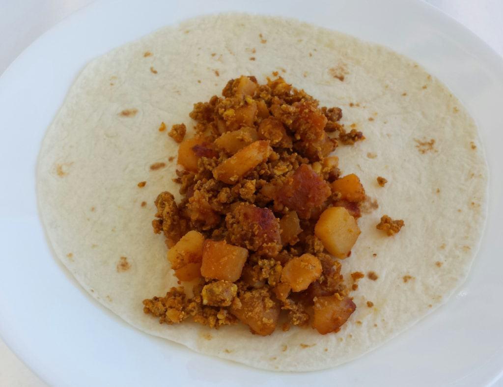 Soft Breakfast Tacos