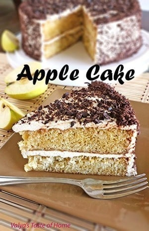 """Apple"" Cake"