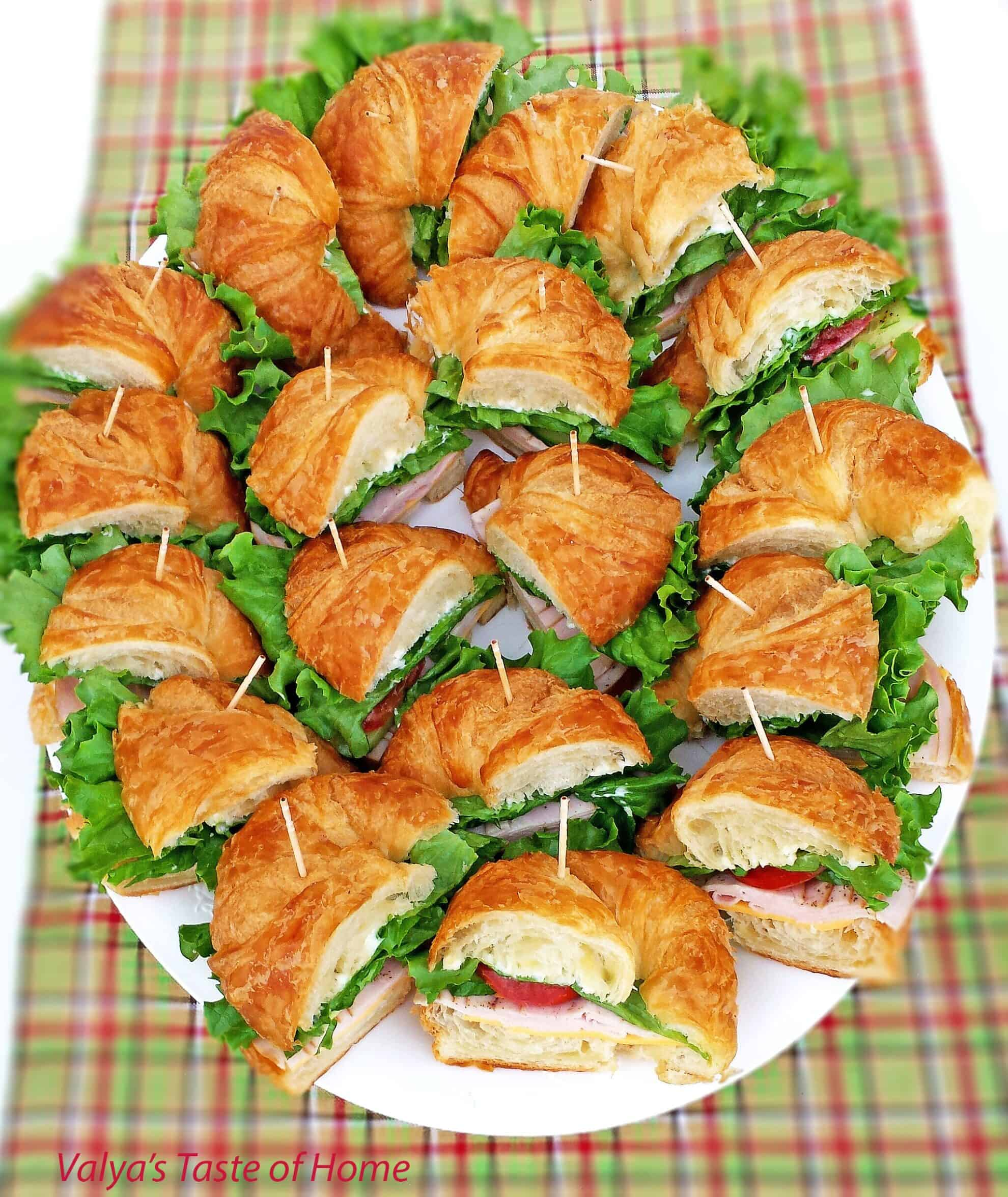 Turkey Croissan'wich Appetizers