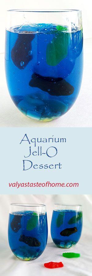 Aquarium Jell-O Dessert