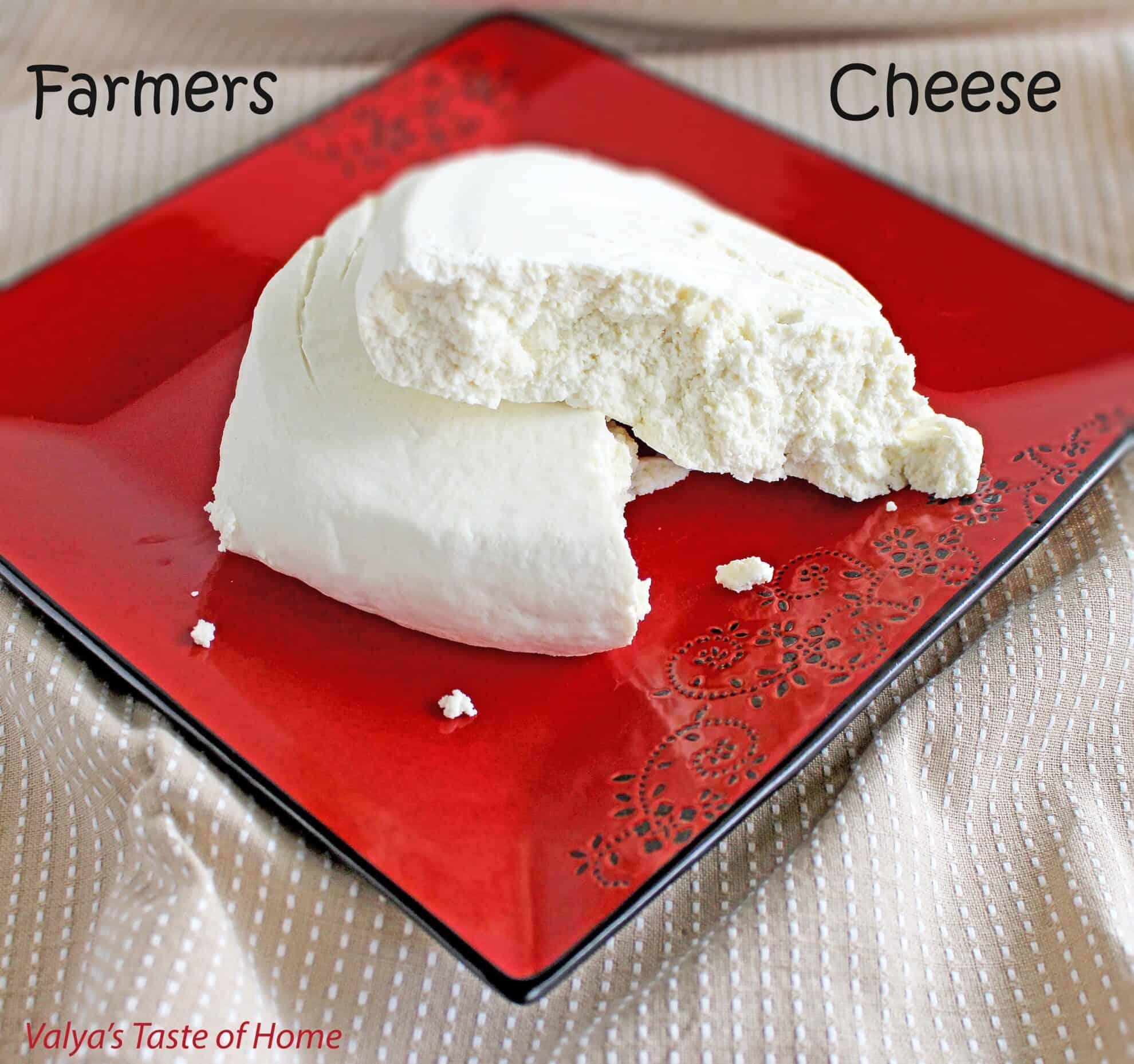 Farmers Cheese Recipe