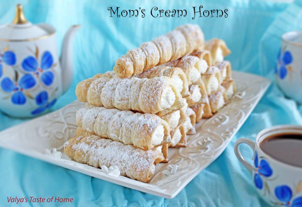 Mom's Cream Horns
