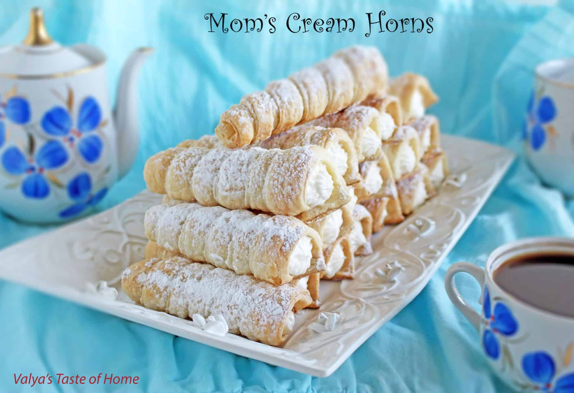 Mom S Cream Horns Valya S Taste Of Home
