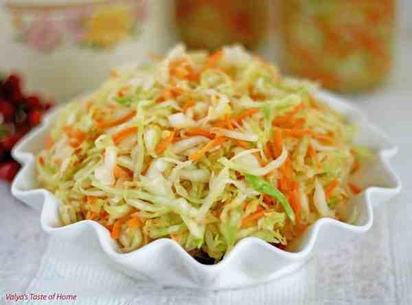 Homemade Ukrainian Sauerkraut Recipe