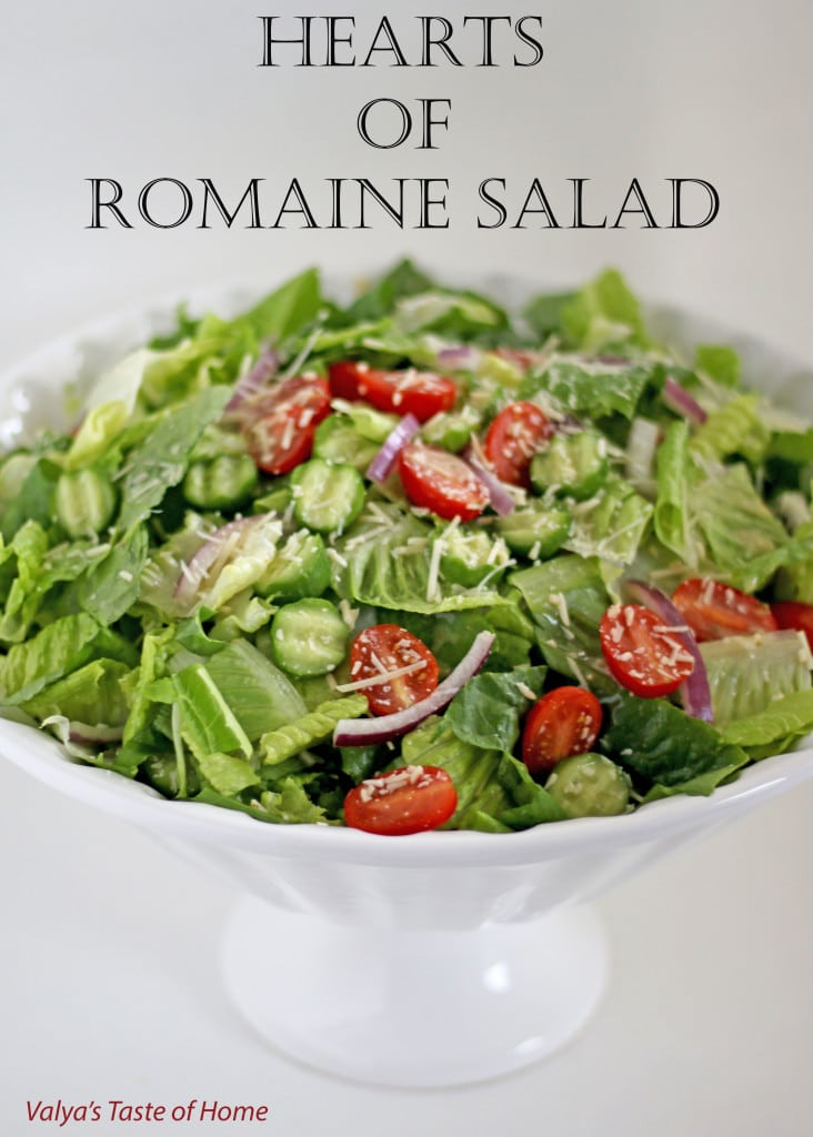 Hearts of Romaine Salad Recipe + Giveaway