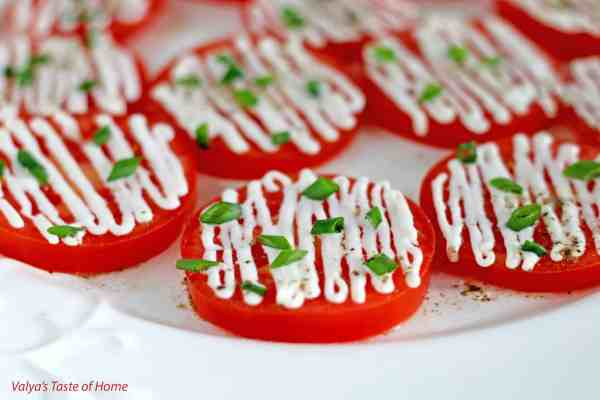 Tomato Appetizers