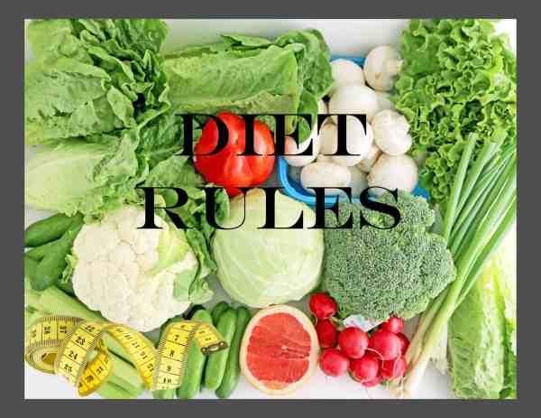 Diet Rules - Part II