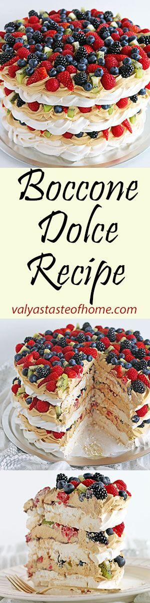 Boccone Dolce Recipe