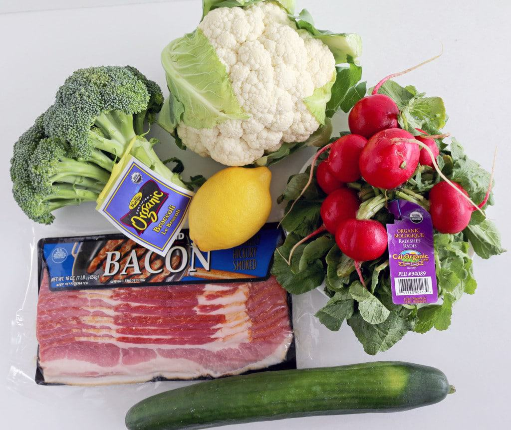 Veggie and Bacon Salad Recipe