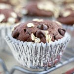 Honey Chocolate Zucchini Muffins