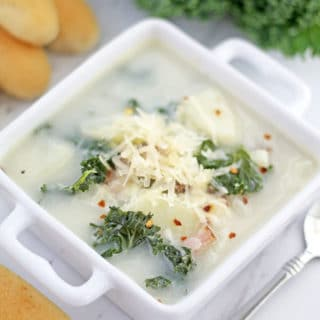 The Best Zuppa Toscana Soup with Homemade Sausage