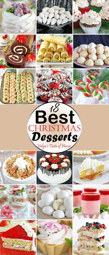 18 Best Christmas Desserts