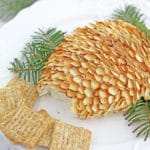 Pinecone Cheese Spread Appetizer