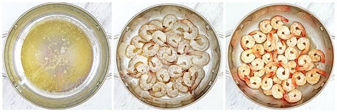 Shrimp Alfredo Fettuccini Pasta Recipe